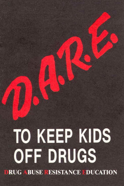 Students DARE to say 'no' to drugs
